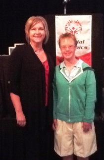 PCB and athlete Susie Doyle SONA MACC meeting