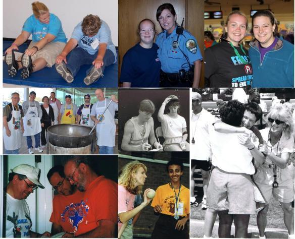 Special Olympics Louisiana Volunteers