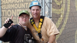 Mike and Aaron Rhodes at Over the Edge 2012