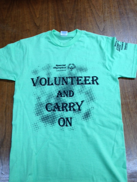 2013 Volunteer Shirt