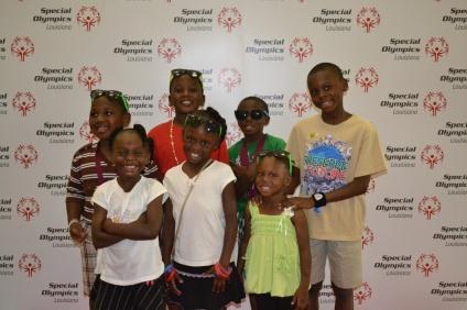 Special Olympics Louisiana young athletes