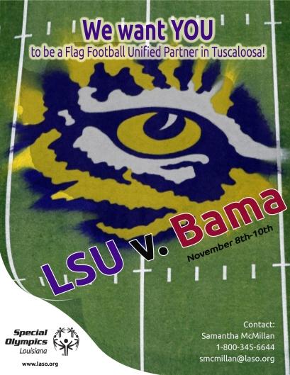 LSU v Bama Flier3