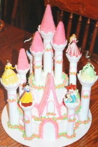 Allixis Chapman princess castle cake