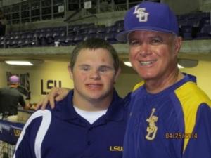 Adam Gilmore and Coach Mainieri