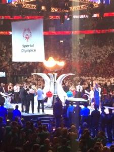 Opening Ceremonies stage Elaine