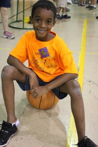 young athlete basketball