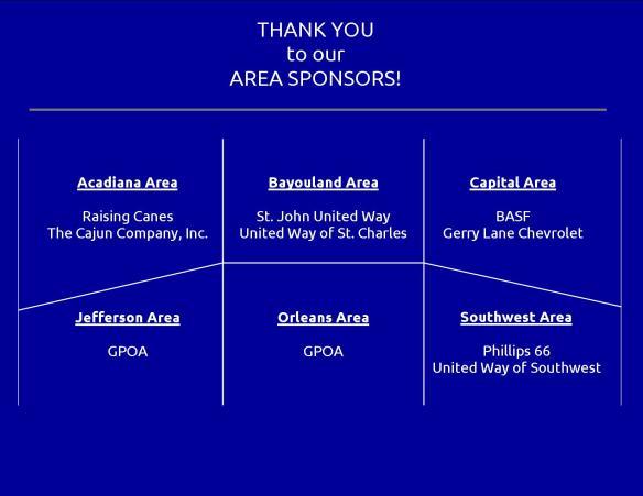 Area Sponsors