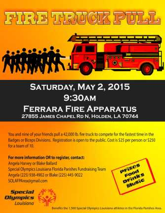 FP Area 2015 Fire Truck Pull