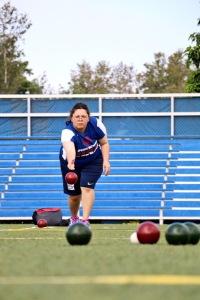 Carol at World Games
