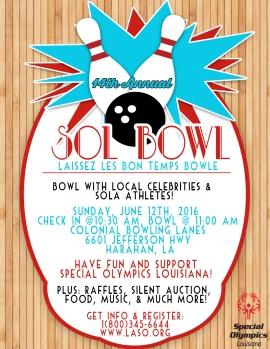 2016 SOL Bowl Flyer