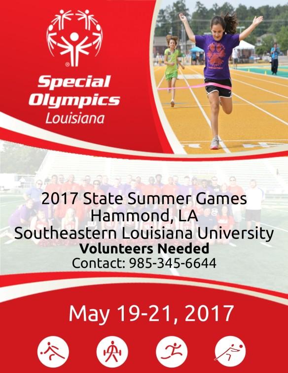 2017 Summer Games Flyer