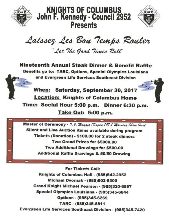 19th Annual Steak Dinner & Benefit Raffle-page-001
