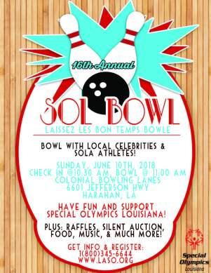 2018 SOL Bowl Flyer